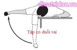 Bài tập 15: Bài tập vật lý trị liệu khớp vai