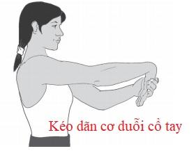 Kéo dãn cơ duỗi cổ tay
