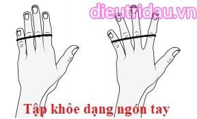 Tập khỏe dạng ngón tay