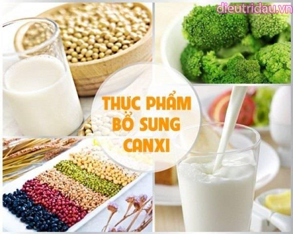 Đảm bảo cung cấp đủ dinh dưỡng đặc biệt là canxi trong khẩu phần hàng ngày
