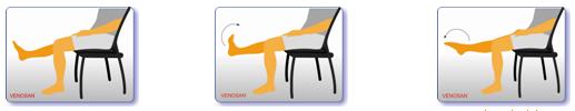 3. Gập và uốn cong bàn chân